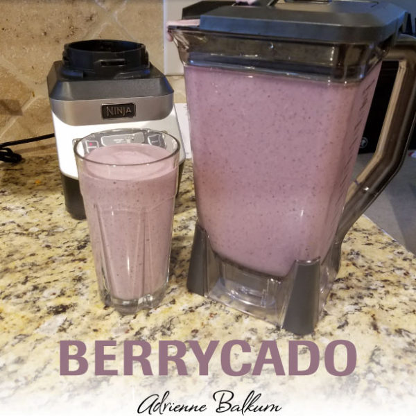 How To Make A Berrycado Smoothie